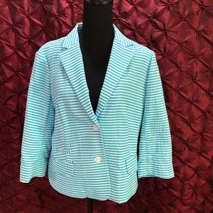 🛒🛒 Brooks Brothers Chic striped Jacket - Blazer